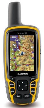 GPS-навигаторы Garmin GPSMAP 62